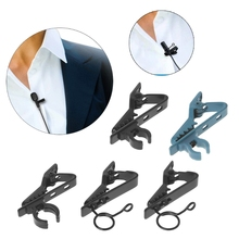 1 шт. Универсальный микрофон нагрудный зажим для галстука мини зажим портативный используется для футболки воротник