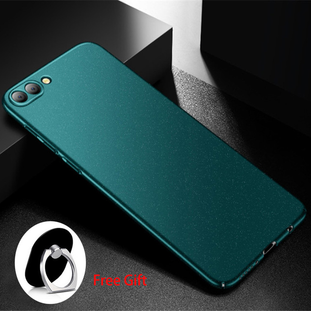 pretty nice fb7ed ea13b US $6.56 27% OFF|Aliexpress.com : Buy For huawei honor v10 case honor v10  cover Aixuan ultra thin matte funda black full protective case For huawei  ...