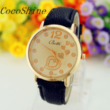 Women Female Watches Wrist Watch Moment Clock Number Dial Faux Leather Bracelet Quartz Watches Gifts Wholesale Dropshipping #20