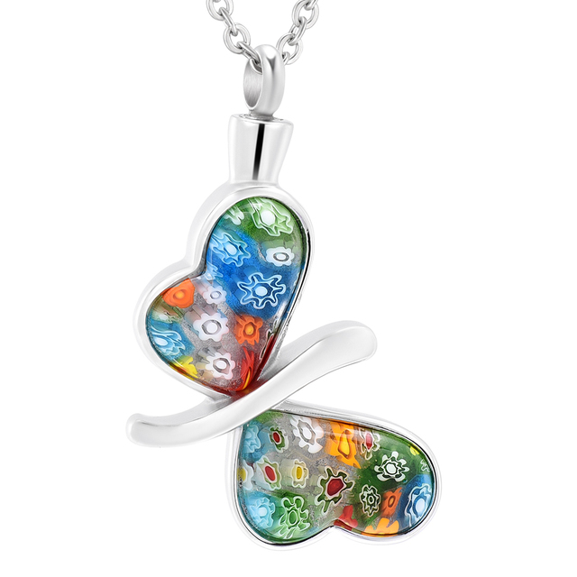 Ijd4382 stainless steel jewelry murano glass butterfly memorial urn ijd4382 stainless steel jewelry murano glass butterfly memorial urn necklace animal ashes keepsake cremation pendant necklace aloadofball Gallery