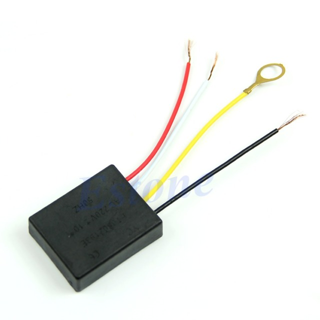 Table light Parts On/off 1 Way Touch Control Sensor Bulb Lamp Switch ...