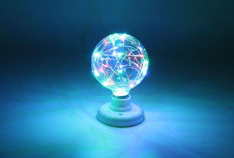 E27 3D Star LED Edison Bulb 220v Holiday Christmas Decoration Bar LED Lamp Lamparas Bombillas Festival Lighting