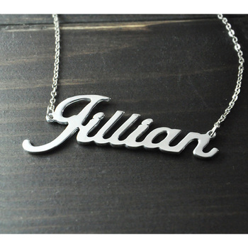 Any Personalized Name Necklace alloy pendant Alison font fascinating pendant 1