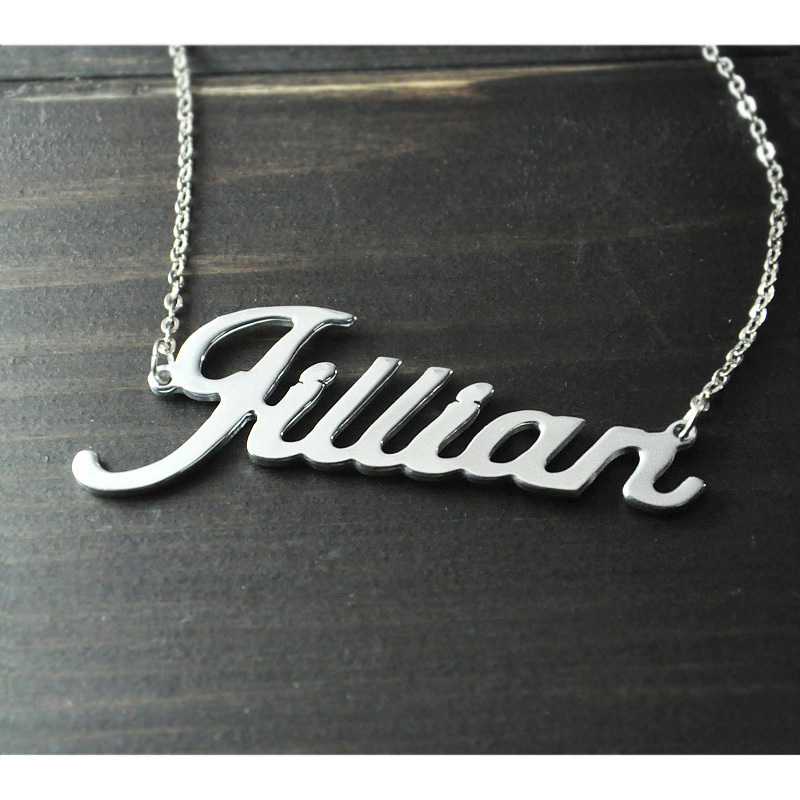 Jewelry & Access. ...  ... 1903979262 ... 2 ... Any Personalized Name Necklace alloy  pendant  Alison font  fascinating  pendant  custom name necklace Personalized  necklace ...