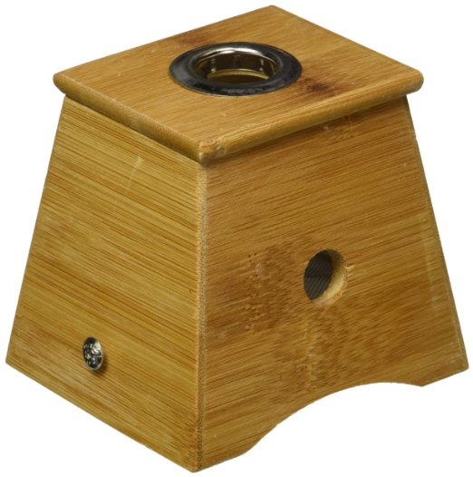 Bamboo One Hole Healing Box  moxibustion box  for Moxa Moxibustion Medicine Therapy