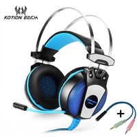 KOTION EACH GS500 3 5mm Gaming Headset Stereo Bass PS4 Headphone With Mic For Computer Xbox