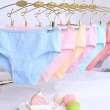 Girls Panties Underwear Lingerie Briefs Pantynh0008 Cotton Soft 4pcs/Lot Comfortable