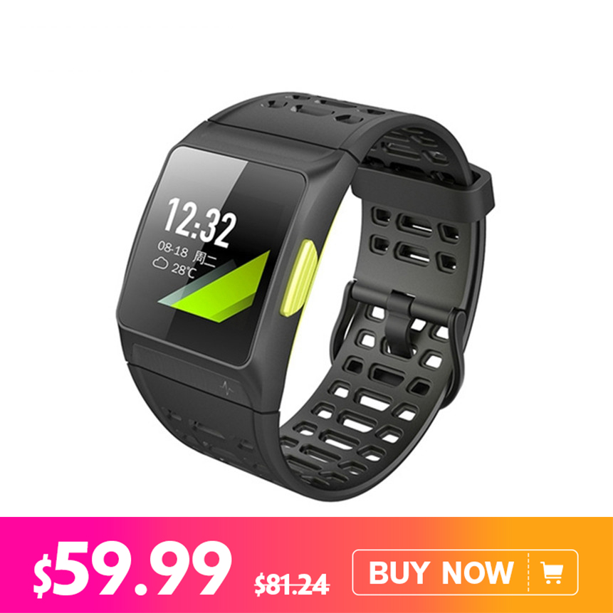 все цены на IWOWN P1 Smart Wristband 1.3inch Color Screen Heart Rate Monitor GPS Sport Fitness Tracker Bluetooth wristband for Android iOS онлайн