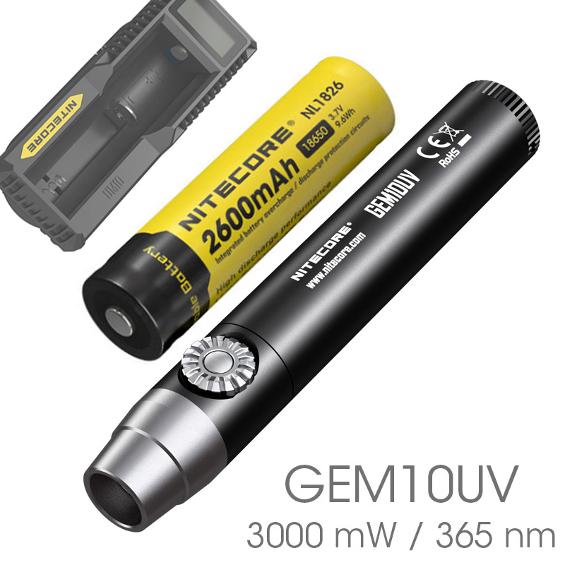 Nitecore GEM8 GEM8UV GEM10 GEM10UV Brightness Professional Gemstone Identification Flashlight with Ultraviolet/White Light 2018 nitecore gem8uv professional gemstone identification flashlight uv light 3000mw 365nm diamond amber torch without battery