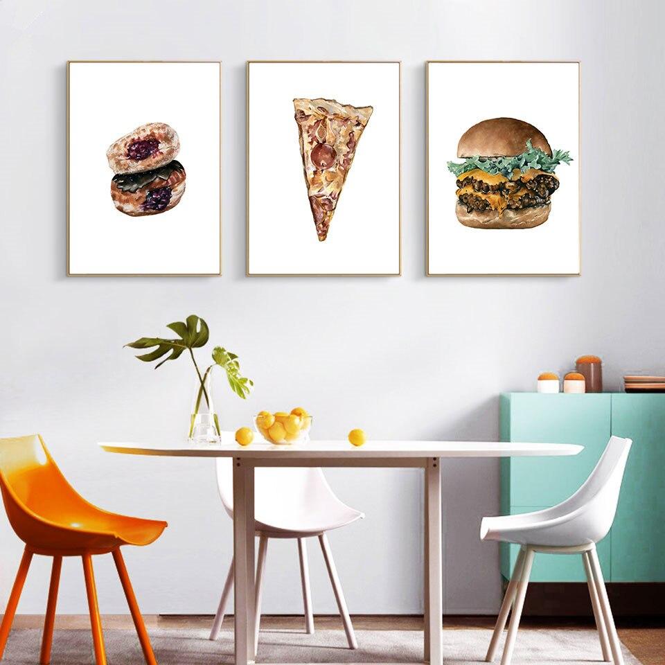 пожелать картинки на стену на кухню с едой красивом саду
