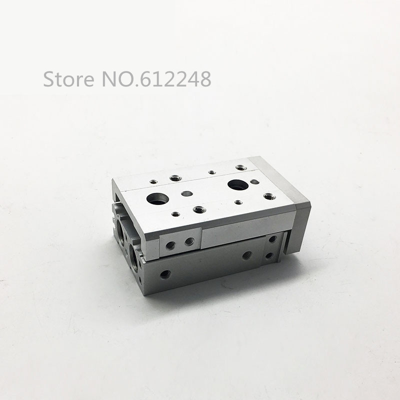 HLS MXS12-50 SMC Type MXS Series Cylinder MXS12-50A MXS12-50AS MXS1250AT MXS12-50B Air Slide Table Double Acting