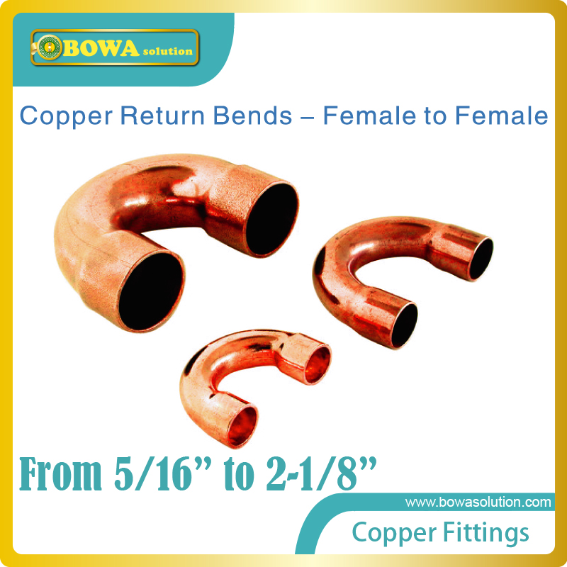 2-1/8 Copper Return bends suitable for tandem semi-screw compressors unit for large cooling capacity or heating capacity demand 2 5 8 refrigeration unit anti shake hose vibration absorber suitable for screw compressor unit replace muller products