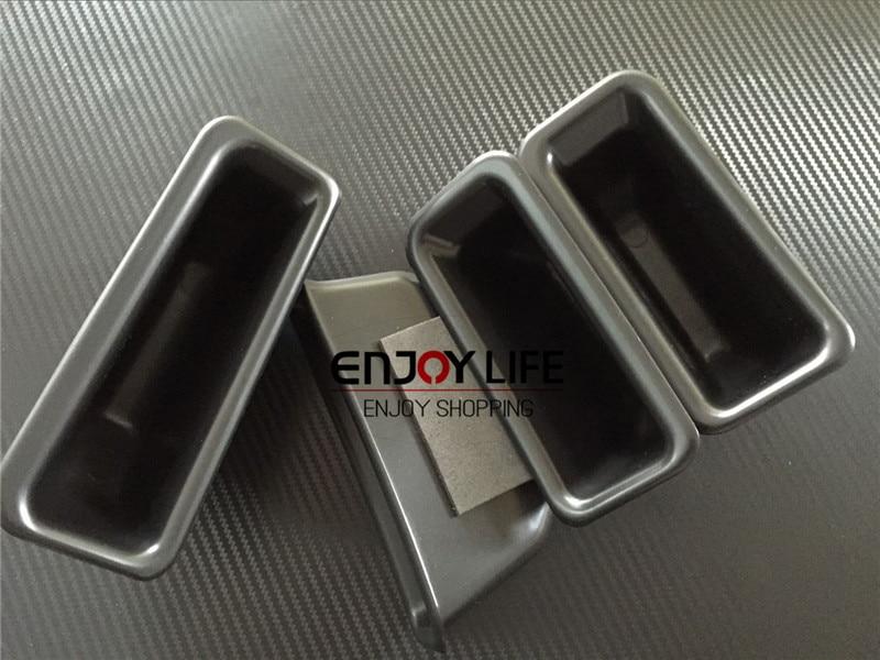 Car Armrest Box Door Handle Storage Glove Box Phone Holder Container Organizer For Ford Explorer 2016 facelift model