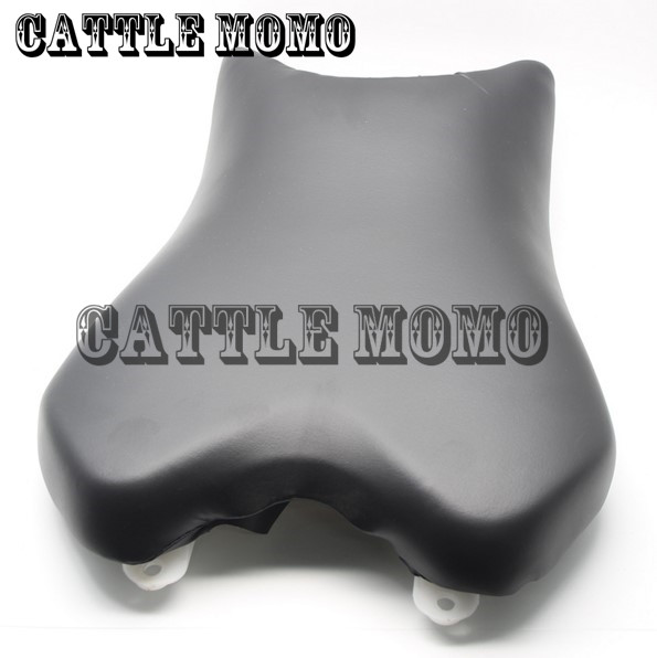 Passenger Seat Cover Cushion For Yamaha YZF R6 2008 2009 2010 2011(2014) Motorbike Front Rider Seat Leather Foam Plastic Cover