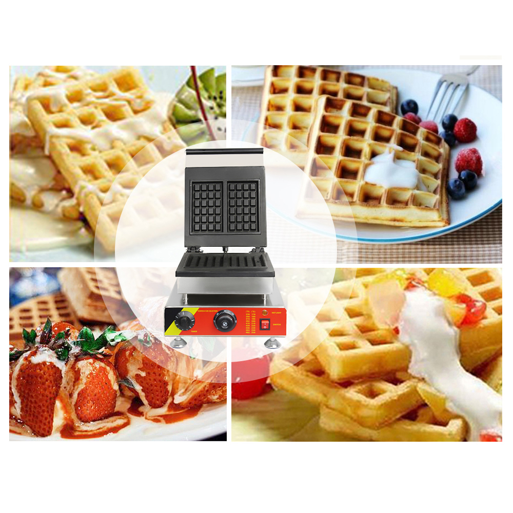 ITOP Commercial Waffle Makers Electric 1500W Waffle Oven Machine Non Stick Bubble Egg Cake Oven Kitchen Tools in Waffle Makers from Home Appliances