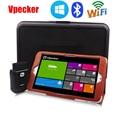 "8 ""Carro De Diagnóstico Tablet + Vpecker WIN10 WIFI OBD2 Diagnóstico Easydiag Scanner Conjunto Completo Com Caso Caixa De Ferramentas"