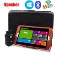 "8 ""WIN10 Автомобиля Диагностический Tablet + Vpecker WI-FI Easydiag OBD2 Диагностический Сканер Полный Комплект С Toolbox Случае"
