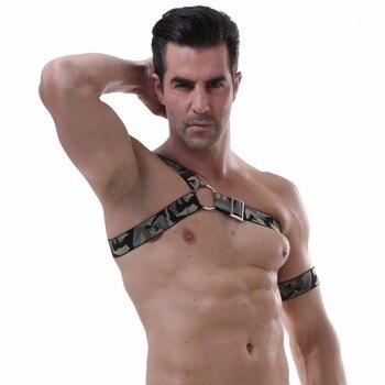 Men Sexy Underwear Couple Matching Clothing Lacing Vest Gay Bikini Underwear Exotic Lingerie Gay Wear Bondage Physical Exercise