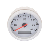 Universal rpm meter motorcycle Auto Tachometer for Marine Boat Outboard Engine Car Rev Counter
