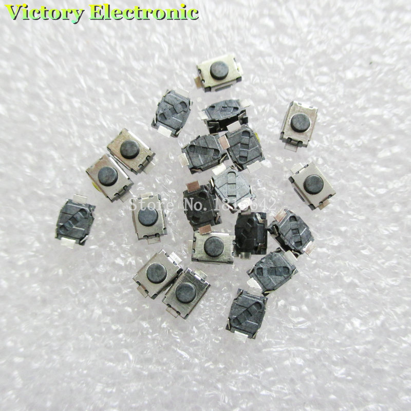 100PCS/LOT 3 * 4 * 2MM Micro Button 3X4X2 Tact Switch 2 Pin Little Turtle Single Shrapnel Temperature 3x4x2MM 2PIN