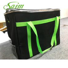 600D Pizza Bag Insulated Package Food Delivery Bag Outdoor Storage Bag Spring Summer Picnic Bags Large Thermal Cooler Ice Pack 44 34 34cm 44l with frp support food pizza delivery bag pizza thermal insulation bag