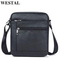 WESTAL сумка мужская через плечо сумка мужская небольшой Ipad держатель сумка естественно сумка мужская натуральная кожа сумки мужские маленьк...