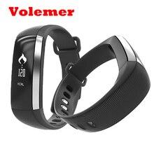 Volemer M2 Smart Браслет артериального давления наручные часы Пульс Метр монитор cardiaco умный Группа фитнес SmartBand PK ID107 ID115