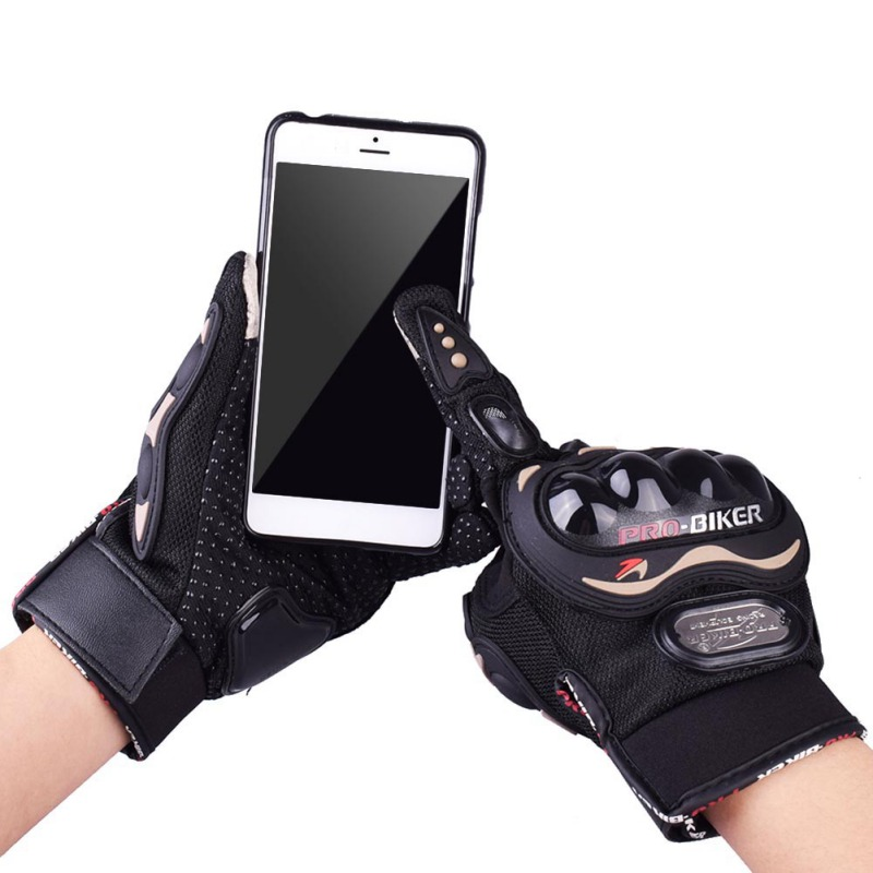 Men Women Autumn Winter Screen Touch Motorcycle Glove Warm Gloves Guantes Moto Cycling Motocross Gloves