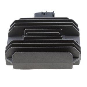 Image 5 - 1 Pcs Voltage Regulator Rectifier Replacement For Kawasaki EX250/EX300/ ER400/ER4N/ER4F Etc 3.74* 3.07*0.98 Inch
