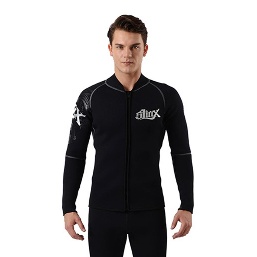 3mm/0.12in Men Women Flocking Lining Warm Diving Jackets Winter Diving Wetsuit Swimwear For Surfing Diving Swimsuit Wetsuits 2016 new styles summer diving wetsuit for men father day s gift summer surfing costumes fine embossed wetsuit a1616