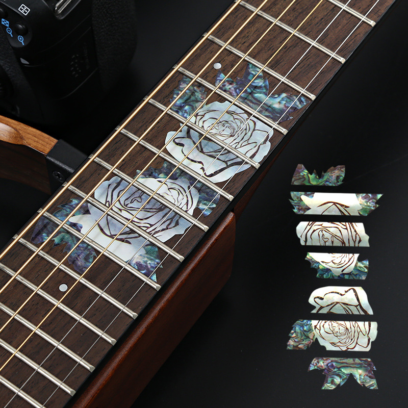New Fashion Yueko Neoclassical Guitar Acoustic Guitar Fingerboard Pattern Sticker Stringed Instruments Guitar Accessories