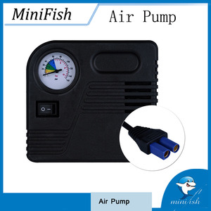 Portable Car Air Pump Electric Tire Inflator Auto Air Compressor 12V 150PSI With Car Jump Starter Connector Ball Bike Motorcycle