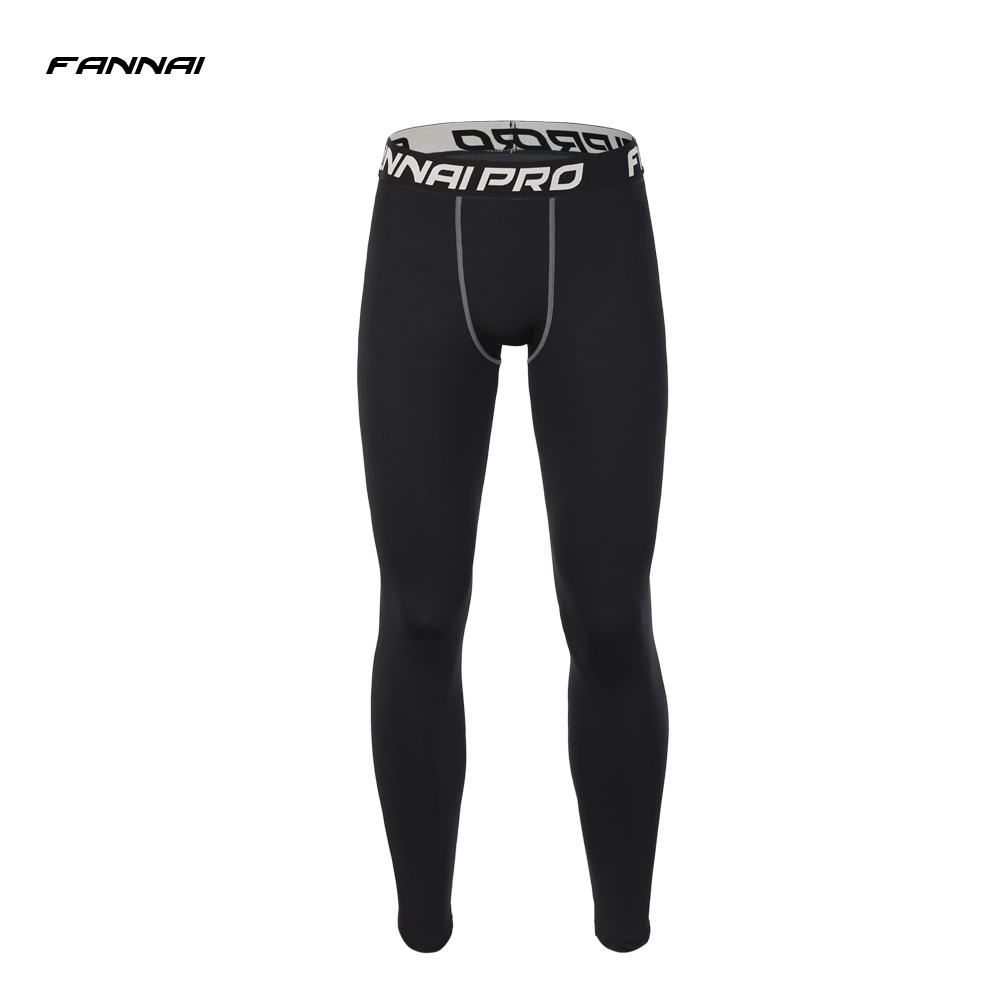 New arrive Mens Compression Running Pants Quick Dry Elastic Outdoor Sports Spring Autumn Breathable Fitness Gym Trousers Tights