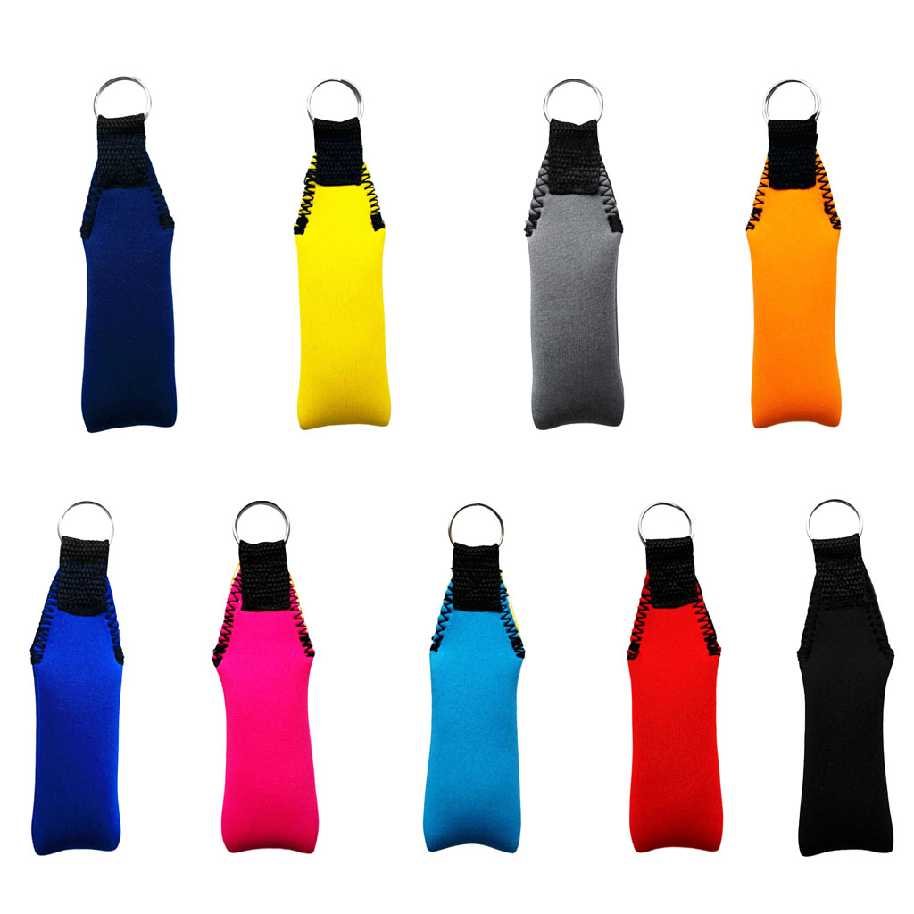 Floating Neoprene Boat Keychain - Marine Key Chain Float Buoy Boating Sailing Surfing Swim Beach Accessory - Various Colors