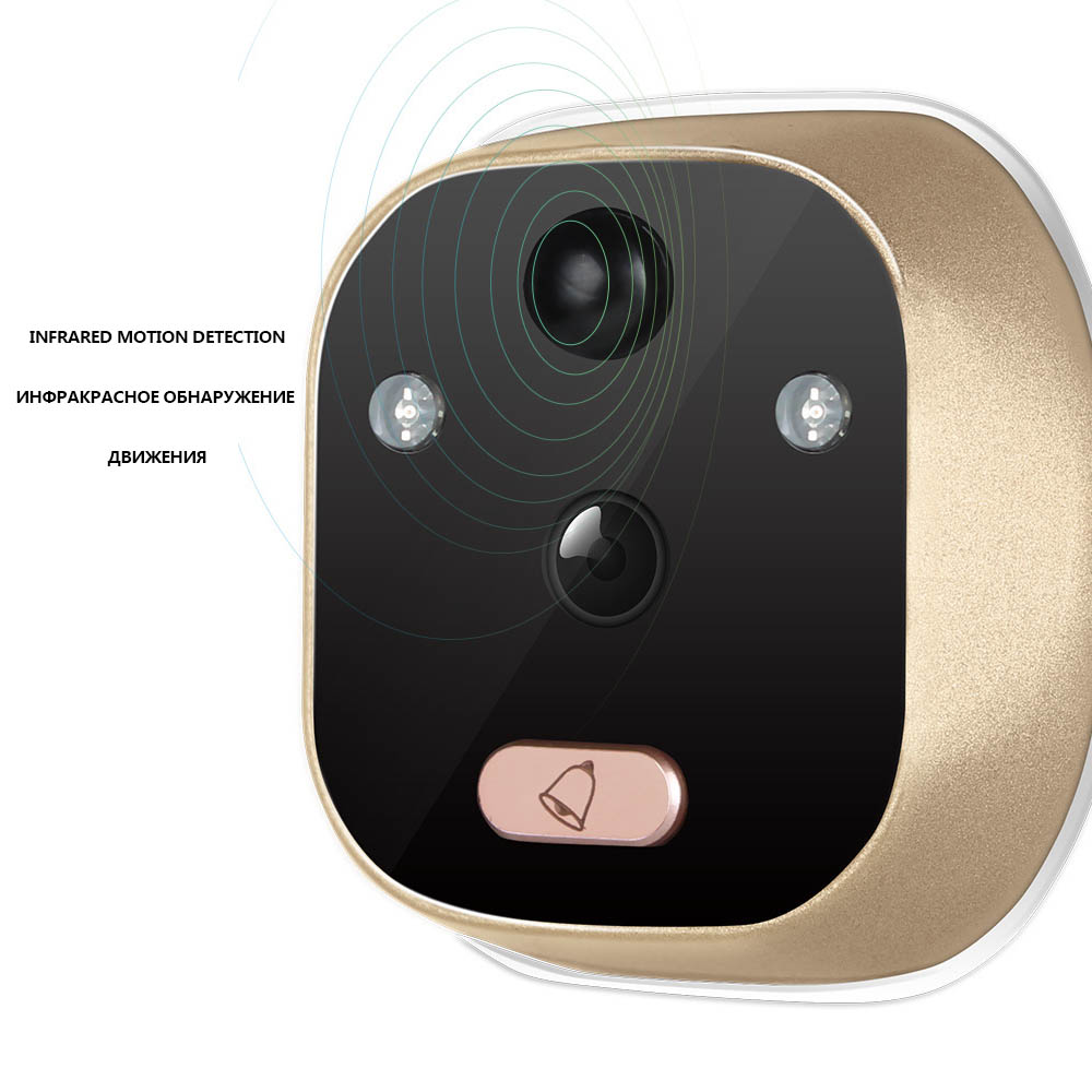 Electronic Security Camera Doorbell
