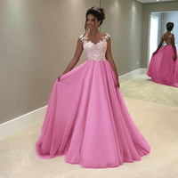 BKLD Vintage Elegant Lady Party Long Dress Sexy Women Sleeveless Floor Length Dress Backless Summer Dress Plus Size S 4XL
