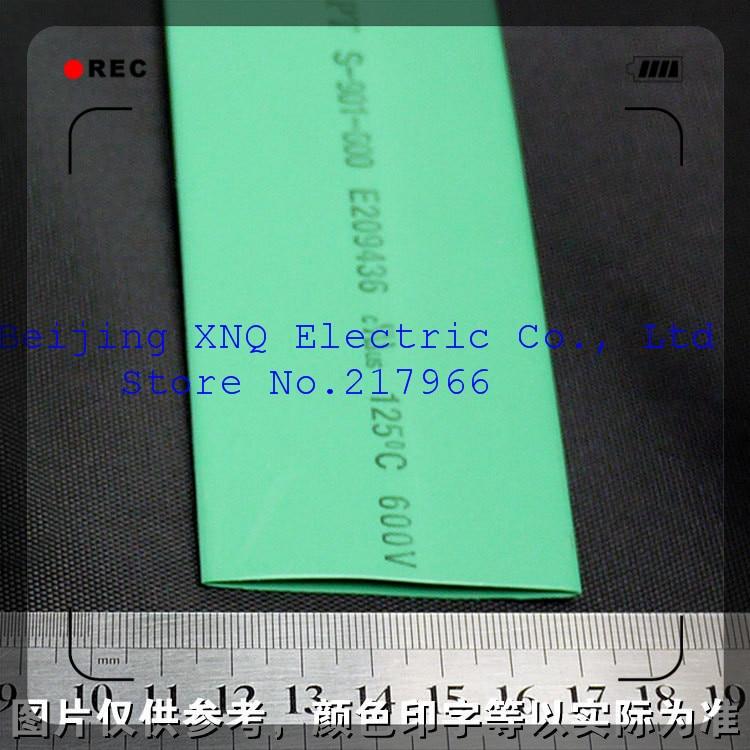 Herrlich 35mm Grün Schrumpf Schlauch Schrumpf Schlauch Wärme Schrumpf Schlauch Isolierung Ul Rohs Umwelt Zertifizierung Freies Shippi Dämmstoffe & Elemente