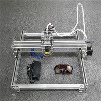 חרט לייזר מיני USB 2500 mW 12 V 1 W מודול לייזר מכונת חיתוך חריטת גילוף שולחן עבודה 300*400 מ