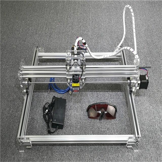2500mW USB Mini DIY Laser Engraver 12V 1W Laser Module Engraving Cutting Carving Machine Paper Wood Cloth Cut Desktop 300*400mm