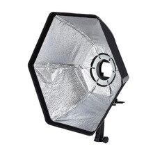 Selens фотографическая 50 см шестиугольник softbox с l-образный адаптер кольцо фотостудия аксессуары