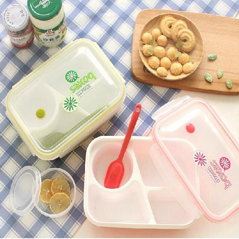 Hoomall Microwaveable Plastic Lunch Boxes 1