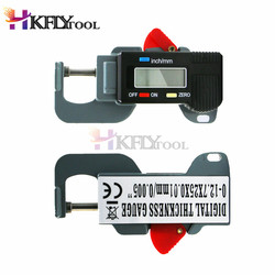 Portable Precise Digital Thickness Gauge Meter Metal Tester Micrometer 0 to 12.7mm 0.01mm leather paper thickness meter