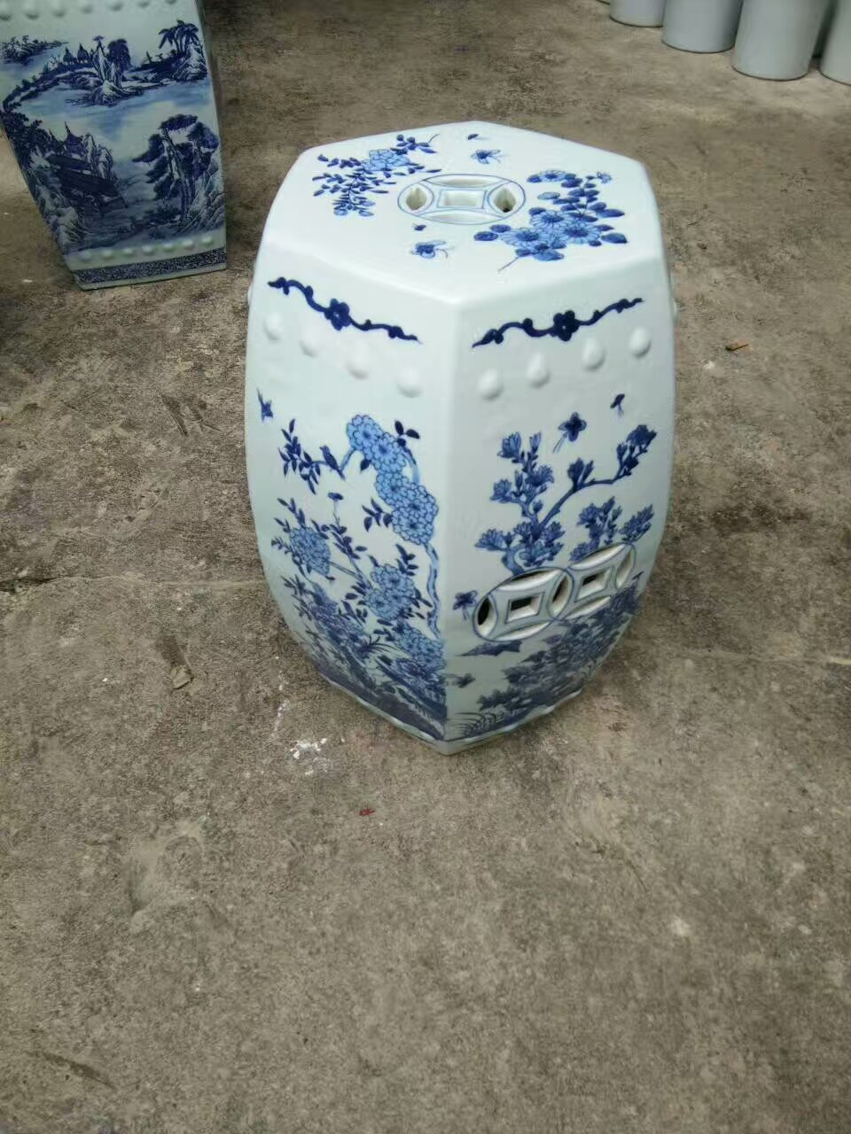 Antique Stool For Dressing Table Drum Stool Chinese