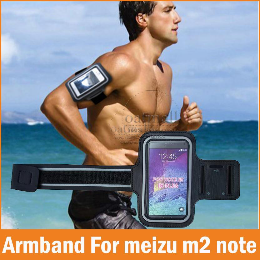New Sports GYM Running Armband For Meizu M5 Note Case Waterproof Jogging Arm Band Phone bags M3 Note Cases Cover Accessories