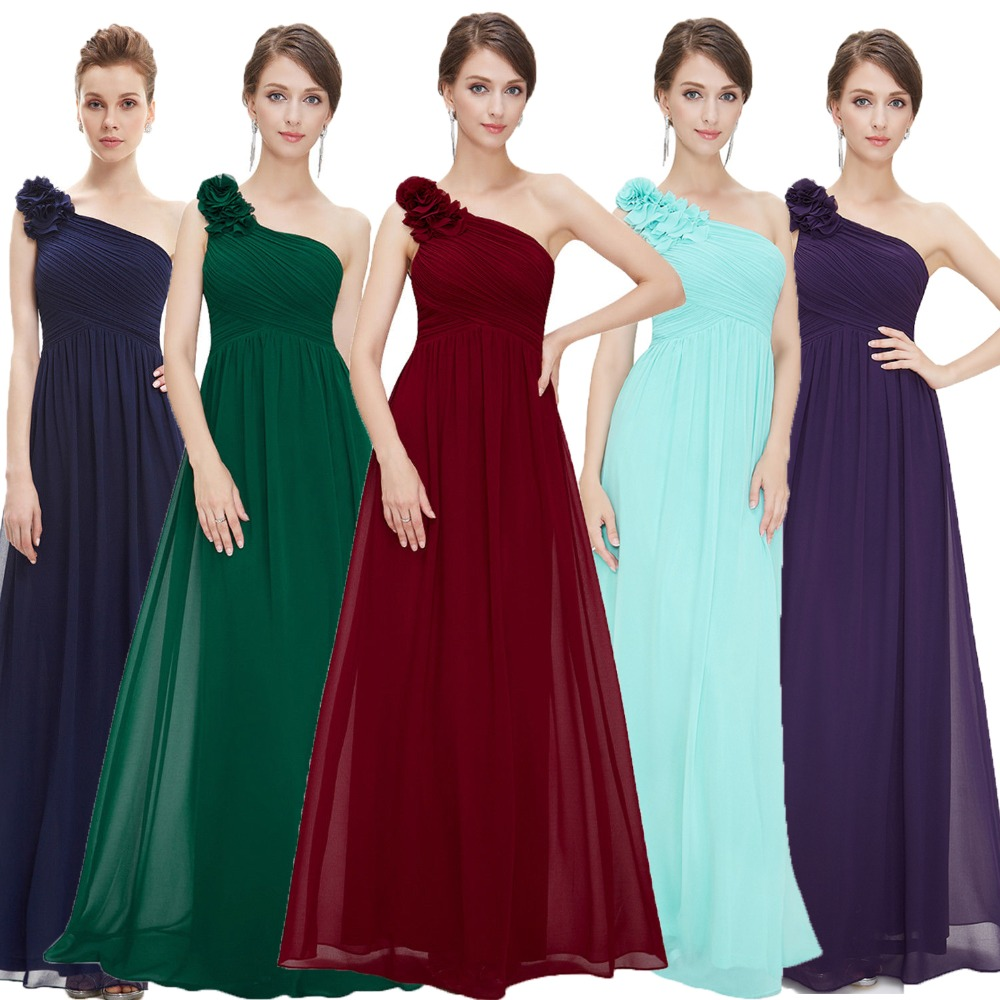 Evening     Dresses   Long Ever Pretty EP08237 One Shoulder Floral Holiday Celebrity Prom Fashion Style   Evening     Dresses   Long