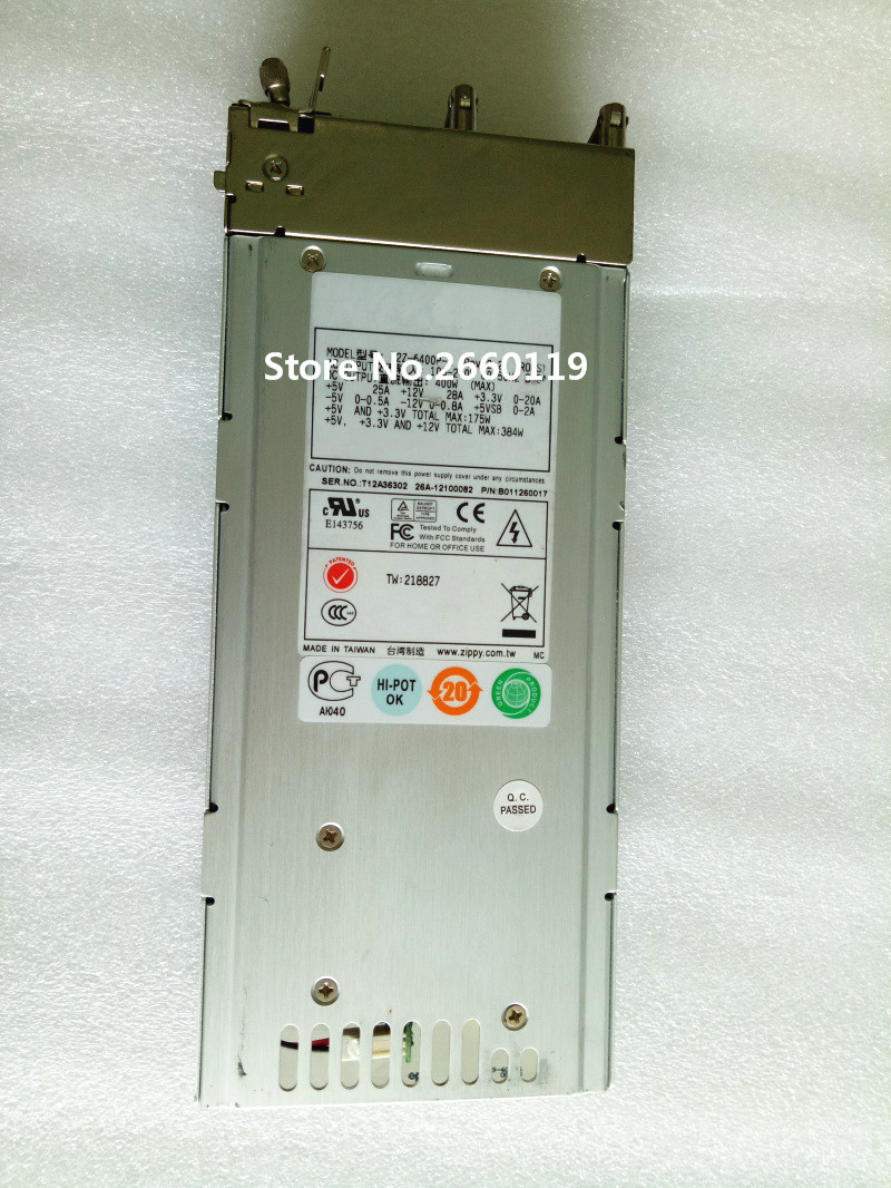 Server power supply for R2Z-6400P-R 400W fully tested aa22770 300 1568 400w server power supply for v240 n240