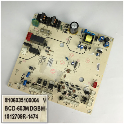 8106035100004 V0.8 For BCD-603WDGBW-C Good Working Tested