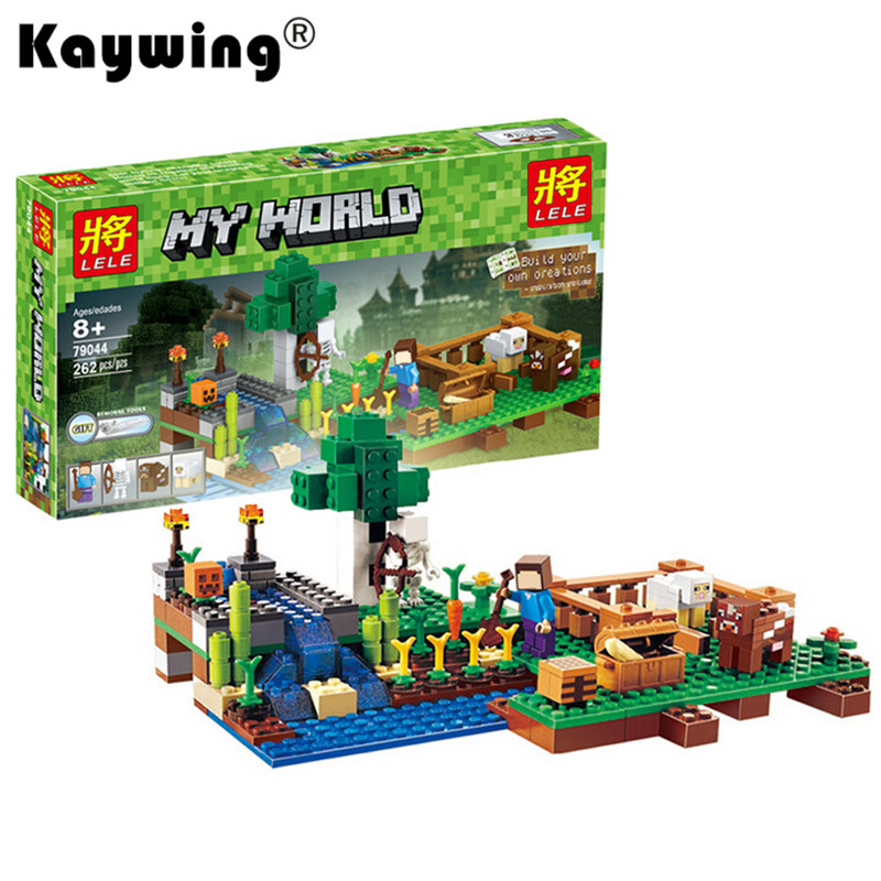 262 Pcs Building Blocks Brinquedos Model set Figures Toys Minecraft For boys/girls Compatible with LegoeINGly