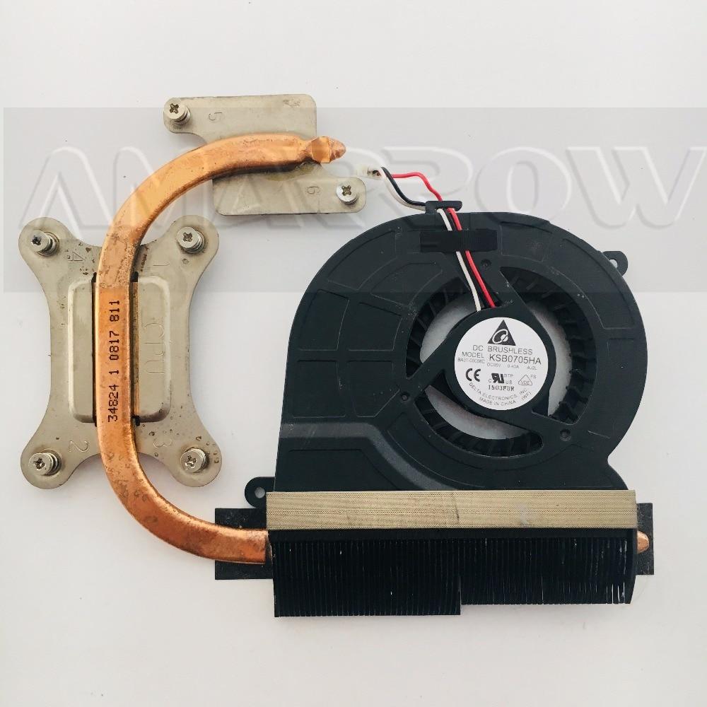 Original laptop CPU heatsink cooling fan For SAMSUNG RV411 RC410 RC510  RV511 RV420 CPU heatsink Fan BA62-00545C