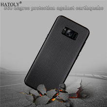 sFor Cover Samsung Galaxy S8 Case for Samsung Galaxy S8 Soft Rubber Silicone Armor Phone Shell Bumper Phone Case for Samsung S8